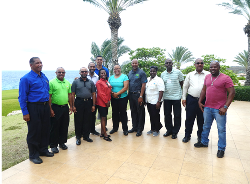 Anglophone participants in the 2019 Hurricane Committee Meeting