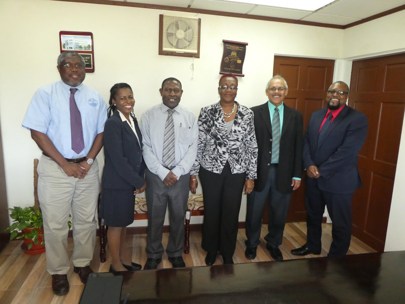 CMO HQ, CIMH, BMS, Minister, Permanent Secretary, Barbados Min. of Agri. & Food Security